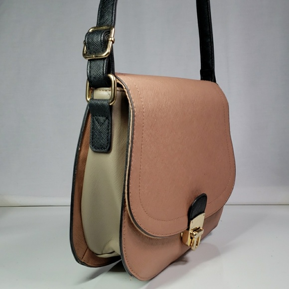 professional sale get cheap in stock NEW LOOK safiano leather satchel shoulder bag